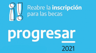 Segunda convocatoria de inscripción a Becas Progresar 2021