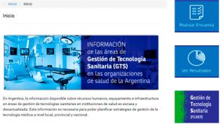 El Proyecto GTS sorteará 5 becas para realizar curso de la Especialización en Ingeniería Clínica.