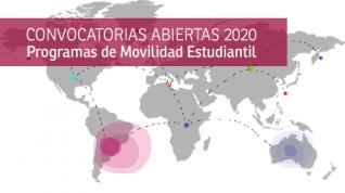 Convocatoria 2020: inscripciones abiertas para los programas de movilidad estudiantil PILA y ESCALA.
