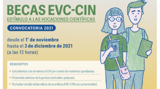En noviembre abre la convocatoria para las Becas de Estímulo a las Vocaciones Científicas del CIN