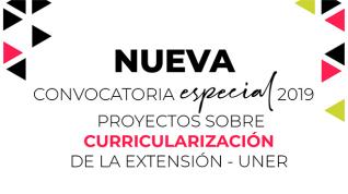 Convocatoria para proyectos de curricularización de la extensión